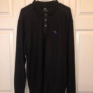 Tommy Bahama Men's Polo Black
